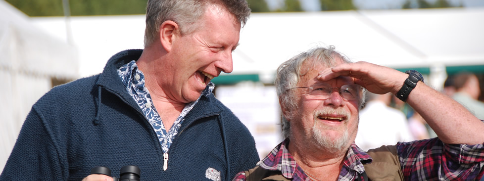 Stephen Moss and Bill Oddie